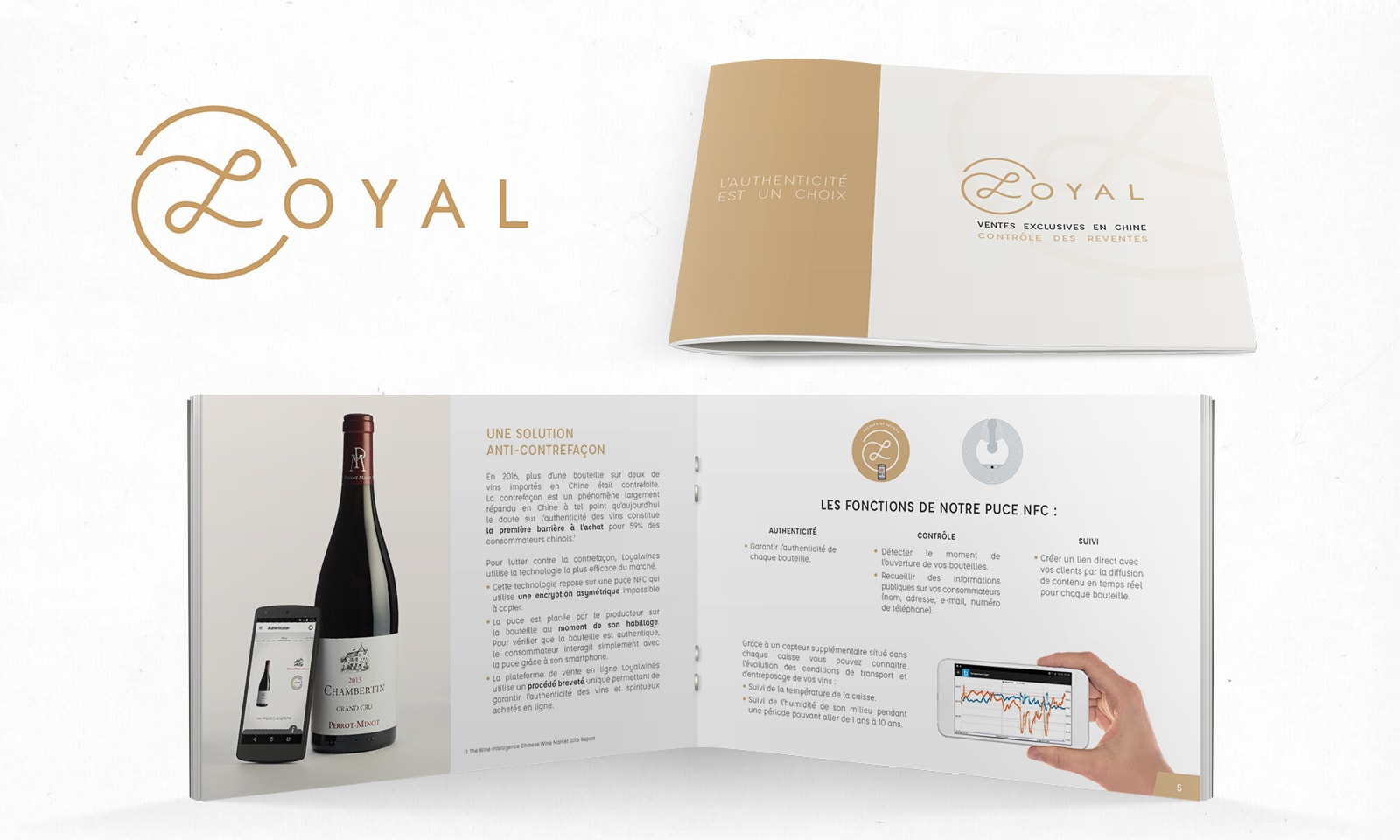 Loyal - Brochure design