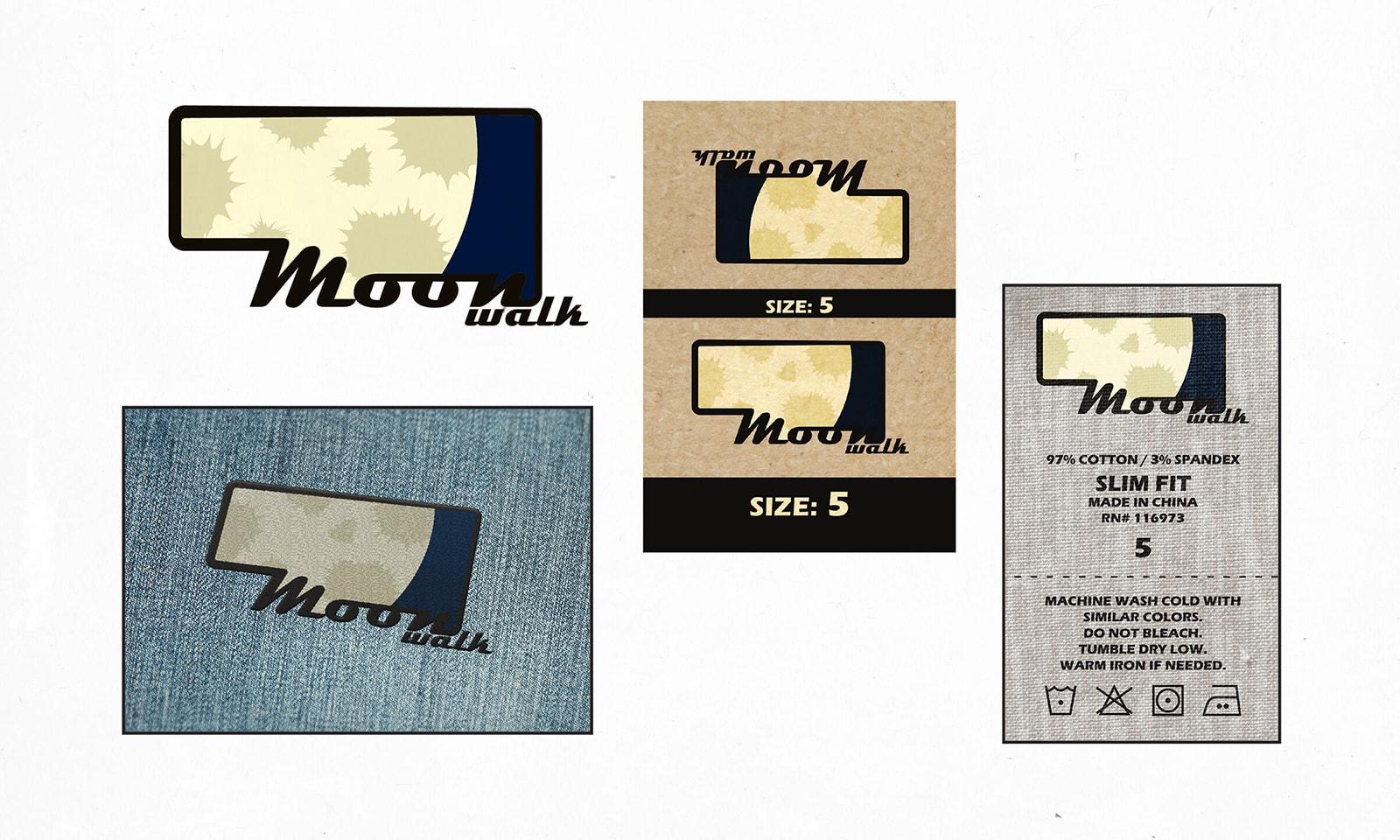 Branding, Logo, label, waist tag