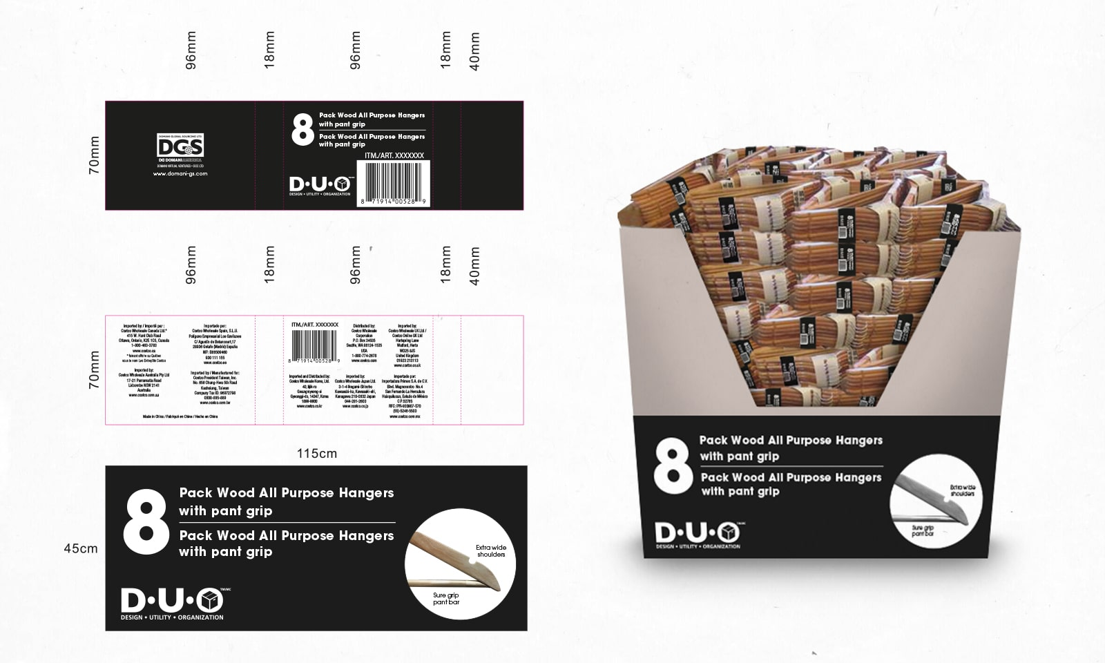 Packaging + 3D Presentation