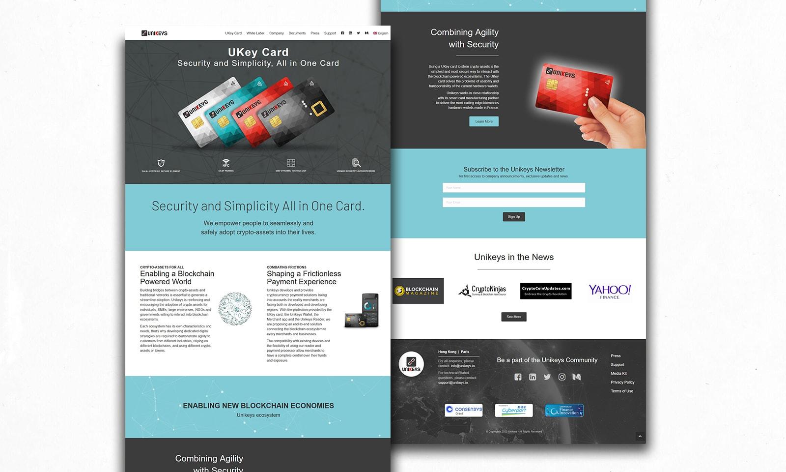 UI/UX - Website